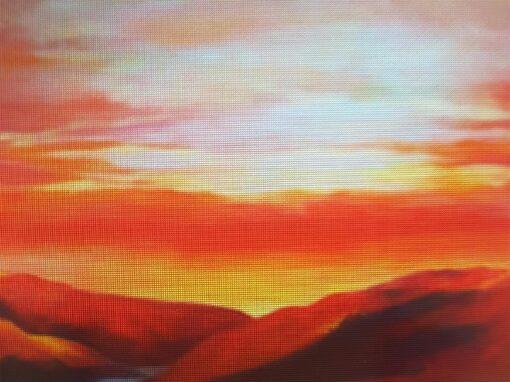 Crimson Sunset Aotearoa