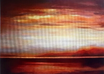 Tranquil Lake Ellesmere by Marilyn Austin