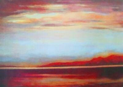 Tranquil Lake Ellesmere